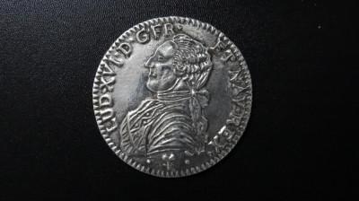 Placheta France, Louis XVI - posibil argint placat 7,5 cm diametru foto