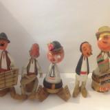 Papusi Populare  Folclorice din Lemn- de colectie