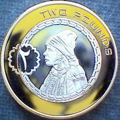 Bnk mnd Bir Tawil 2 pounds 2014 unc, bimetal