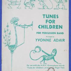 D - Tunes for children for percussion band - cantece pt copii, formatie percutie