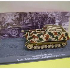 Macheta tanc Hummel - Hungary - 1945 scara 1:72 - Macheta auto