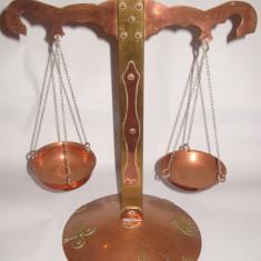 Balanta din cupru si alama model deosebit h-45cm