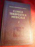 Prof.Dr.D.Dumitrescu-Mante - Clinica Terapeutica Medicala I ,Ed.1941 autograf , dedicatie