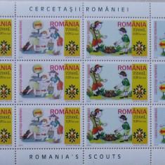 LOT TIMBRE ROMANIA - CERCETASII ROMANIEI 2005 - RO 0104