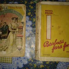 2 carti vechi, 1 franceza, si 1 romaneasca. REDUCERE - Carte veche