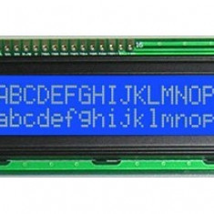 HD44780 LCD Display 1602 16X2 caractere afisaj albastru Arduino