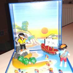 Set playmobile cu piati si corabie - Set de constructie