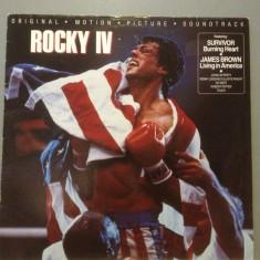 SOUNDTRACK- ROCKY IV cu :survivor, j. brown etc..(1985 /BELLAPHON REC/RFG)- VINIL - Muzica Rock warner