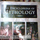 THE ENCYCLOPEDIA OF MYTHOLOGY-ARTHUR COTTRELL- LONDRA  HERMES HOUSE PUBLISHING