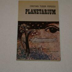 Planetarium - Cristian Tudor Popescu - Editura Albatros - 1987 - Roman