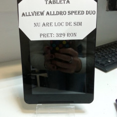 Tableta allview alldro speed duo / nu are loc de sim/ ofer incarcator - Tableta Alldro Speed S