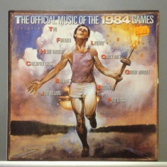 OFFICIAL MUSIC OF THE 1984 GAMES cu :toto, foreigner..(1984 /CBS REC/RFG)- VINIL - Muzica Rock Columbia