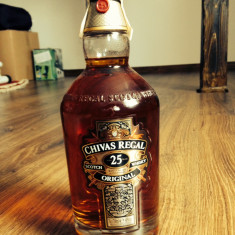 Whisky chivas regal 25 yrs