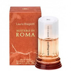 Laura Biagiotti Mistero di Roma EDT 50 ml pentru femei