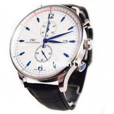 IWC Schaffhausen Portuguese Chronograph ! ! ! Cea Mai Buna Calitate ! - Ceas barbatesc Iwc, Lux - elegant, Quartz, Inox, Piele, Cronograf