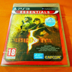 Joc Resident Evil 5 Gold Edition, PS3, original si sigilat, alte sute de jocuri! - Jocuri PS3 Capcom, Actiune, 18+, Single player