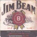 Suport de pahar / Biscuite JIM BEAM