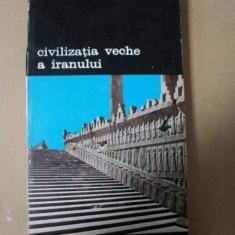 CIVILIZATIA VECHE A IRANULUI- BURCHARD BRENTJES- BUC. 1976 - Istorie