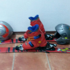 Set ski copii de 100 cm