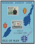 colita Insula Man 1980 navigatie ,corabii , reinnoirea vechilor legaturi