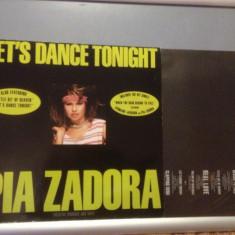 PIA ZADORA & JERMAINE JACKSON - LET'S DANCE TONIGHT(1984 /CURB REC /RFG) - VINIL - Muzica Rock Columbia