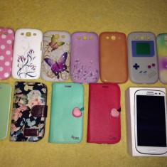 Vand Samsung Galaxy S3 - Telefon mobil Samsung Galaxy S3, Alb, Neblocat, 1 GB
