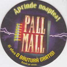 Suport de pahar / Biscuite PALL MALL