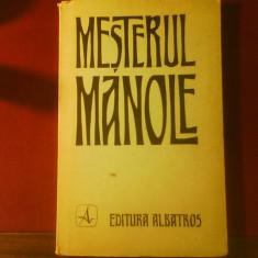 Mesterul Manole, versiuni in 6 limbi, edit.Zoe Dumitrescu Busulenga, ilustr.Em. Chendea - Carte de lux