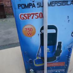 pompa sumersibila cu plutitor pt. apa menajera
