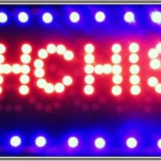 """Reclama luminoasa LED """"DESCHIS+INCHIS"""""""