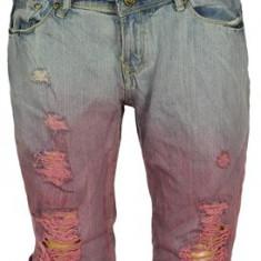 REDUCERE! Pantaloni scurti de blugi Alcott de la 100 ron la 59 ron! - Blugi dama, Marime: S, Culoare: Bleu, 3/4