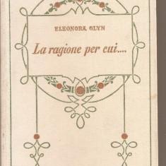 (C5407) ELEONORA GLYN - LA REGIONE PER CUI....., EDITURA ADRIANO SALANI, FIRENZE, 1928 - Carte in italiana