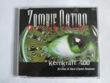 CD ORIGINAL ZOMBIE NATION KERNKRAFT 400 DJ GIUS AND DAVID CLARKE REMIXES