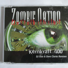 CD ORIGINAL ZOMBIE NATION KERNKRAFT 400 DJ GIUS AND DAVID CLARKE REMIXES - Muzica House