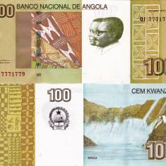 ANGOLA 100 kwanzas 2012 UNC!!! - bancnota africa