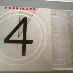 FOREIGNER - IV (1981 /ATLANTIC REC) - DISC VINIL/PICK-UP/VINYL - made in RFG - Muzica Rock warner