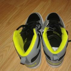 Bascheti (Papuci) Adidas NEO ieftini cu eticheta cu tot - Adidasi barbati, Marime: 44, Negru, Textil