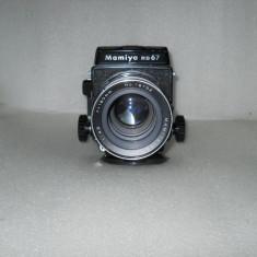 VAND MAMYIA RB 67 CU OBIECTIV MAMYIA-SEKOR 4.5 f=180mm - Aparat Foto cu Film Mamiya