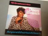 DIONNE WARWICK - 16 GREATEST HITS (1983 /MCA  REC/RFG)- DISC VINIL/PICK-UP/VINYL, ariola