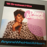 DIONNE WARWICK - 16 GREATEST HITS (1983 /MCA  REC/RFG)- DISC VINIL/PICK-UP/VINYL
