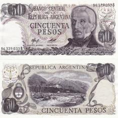 ARGENTINA 50 pesos ND UNC!!! - bancnota america