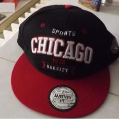 LICHIDARE DE STOC ! Sapca Barbati Chicago Sports Varsity Flat, Marime: Marime universala, Culoare: Multicolor