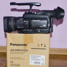 Vand Camere video profesionale Panasonic HMC41 - Camera Video Panasonic, 2-3 inch, Card Memorie, MOS, 10-20x