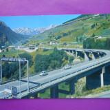 HOPCT 9567 ITALIA BOSSES ST RHEMY -VIADUCTUL LA INTRAREA IN TUNELUL MARE ST BERNARD [ CIRCULATA]