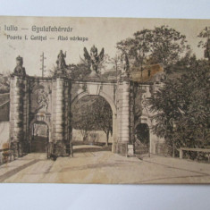C.P. ALBA IULIA 1923 - Carte Postala Transilvania dupa 1918
