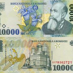 ROMANIA 10.000 lei 1999 UNC!!! - Bancnota romaneasca