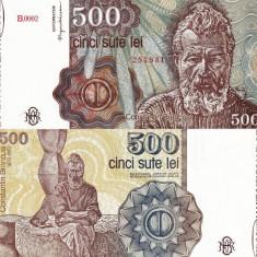 ROMANIA 500 lei ianuarie 1991 UNC!!!