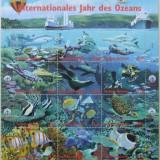 NATIUNILE UNITE VIENA 1998 - ANUL OCEANULUI 1 M/SH, NEOBLITERATA - E1661