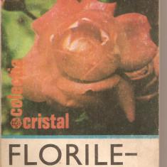 (C5398) FLORILE - PARFUM SI CULOARE DE AURELIAN BALTARETU, EDITURA ALBATROS, 1980 - Carte gradinarit