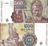 ROMANIA 500 lei aprilie 1991 UNC!!!